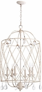 Quorum 6944-6-70 Venice Traditional Persian White 20  Foyer Lighting Fixture