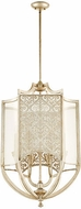 Quorum 6975-6-60 Bastille Modern Aged Silver Leaf Foyer Lighting