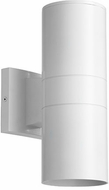 Quorum 720-2-8 Cylinder Modern Studio White Exterior 4.25  Lamp Sconce