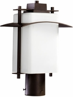 Quorum 7202-9-86 Kirkland Oiled Bronze Outdoor Lighting Post Light