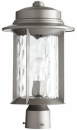 Quorum 7248-9-3 Charter Graphite Exterior Post Lighting