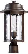 Quorum 7248-9-86 Charter Oiled Bronze Outdoor Post Lighting Fixture