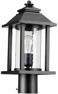 Quorum 7274-69 Crusoe Noir Exterior Lamp Post Light Fixture