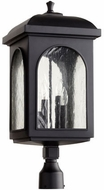Quorum 7605-4-69 Fuller Noir Exterior Post Light
