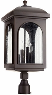 Quorum 7605-4-86 Fuller Oiled Bronze Outdoor Lighting Post Light