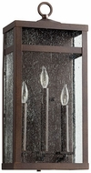 Quorum 772-3-86 Clermont Oiled Bronze Exterior Wall Light Fixture