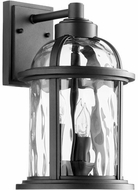 Quorum 7760-3-69 Winston Noir Outdoor 8.75  Lamp Sconce