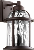 Quorum 7760-3-86 Winston Oiled Bronze Exterior 8.75  Wall Sconce Lighting