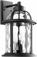 Quorum 7760-4-69 Winston Noir Outdoor 10.75  Wall Light Fixture