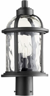 Quorum 7762-3-69 Winston Noir Outdoor Post Lighting