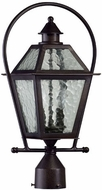Quorum 7921-2-86 Bourbon Street Oiled Bronze Outdoor Post Lighting