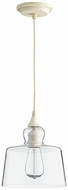 Quorum 8001-70 Filament Modern Persian White w/ Clear Mini Hanging Light