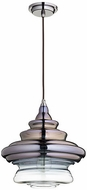 Quorum 8003-1311 Filament Contemporary Gunmetal w/ Coffee Ombre Drop Lighting