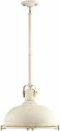 Quorum 804-17-70 Hinge Contemporary Persian White Hanging Pendant Lighting