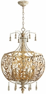 Quorum 8356-6-61 Leduc Florentine Gold Entryway Light Fixture