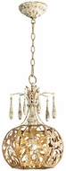 Quorum 8356-61 Leduc Florentine Gold Foyer Lighting Fixture