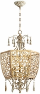 Quorum 8358-5-61 Leduc Florentine Gold Foyer Lighting Fixture