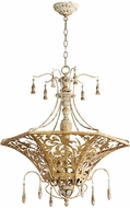 Quorum 8359-6-61 Leduc Florentine Gold Entryway Light Fixture