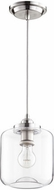 Quorum 845-65 Contemporary Satin Nickel Mini Drop Lighting