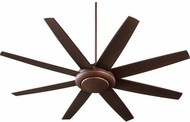 Quorum 84708-86 Modesto Contemporary Oiled Bronze w/ Oiled Bronze Blades Halogen 70  Home Ceiling Fan