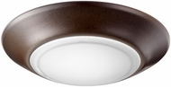 Quorum 905-6-86 Contemporary Oiled Bronze LED Interior / Exterior 6  Ceiling Lighting