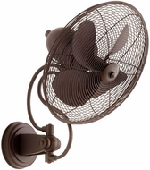 Quorum 94144-86 Piazza Modern Oiled Bronze w/ Oiled Bronze Blades Outdoor 18 Home Ceiling Fan