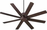Quorum 96608-86 Proxima Contemporary Oiled Bronze w/ Oiled Bronze Blades 60  Home Ceiling Fan