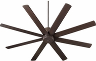 Quorum 96728-86 Proxima Modern Oiled Bronze w/ Oiled Bronze Blades 72  Ceiling Fan