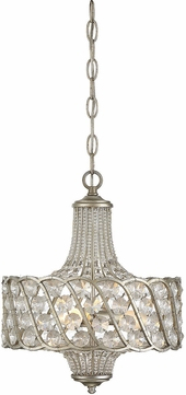 Savoy House 1-1048-3-176 Silver Lace Lighting Pendant