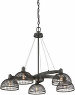 Savoy House 1-6020-5-83 Wexford Contemporary Remington Bronze Hanging Chandelier