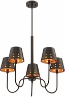 Savoy House 1-6050-5-86 Kimball Contemporary Cuprum Chandelier Lighting