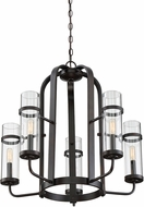 Savoy House 1-6061-5-13 Tulsa English Bronze Chandelier Light