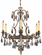 Savoy House 1-6202-6-241 Marseille Moroccan Bronze 6-Light Chandelier Light