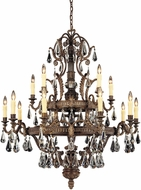 Savoy House 1-6205-15-241 Marseille Moroccan Bronze 15-Light Lighting Chandelier