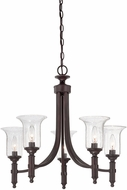 Savoy House 1-7130-5-13 Trudy English Bronze 5-Light Lighting Chandelier