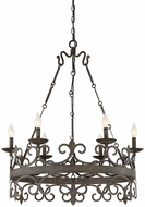 Savoy House 1-8000-6-64 Flanders Traditional Fieldstone Lighting Chandelier