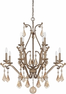 Savoy House 1-8101-12-128 Rothchild Oxidized Silver 12-Light Ceiling Chandelier