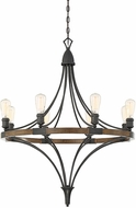 Savoy House 1-9110-8-68 Turing Whiskey Wood Lighting Chandelier
