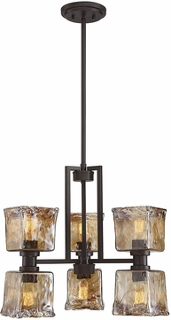 Savoy House 1-9230-6-13 Tallin Modern English Bronze Mini Chandelier Light