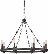 Savoy House 1-930-8-13 Adria Contemporary English Bronze 8-Light Chandelier Light