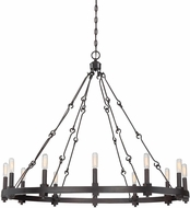 Savoy House 1-931-12-13 Adria Modern English Bronze 12-Light Chandelier Lighting