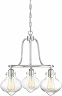 Savoy House 1-9403-3-11 Allman Contemporary Polished Chrome Mini Chandelier Lighting