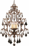 Savoy House 3-1406-5-56 Florence New Tortoise Shell Foyer Light Fixture