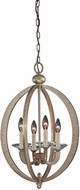 Savoy House 3-1552-4-122 Forum Gold Dust Foyer Lighting Fixture