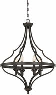 Savoy House 3-9085-6-13 Sheilds English Bronze Foyer Lighting Fixture