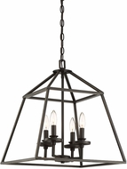 Savoy House 3-9099-4-44 Braxton Classic Bronze Foyer Lighting Fixture