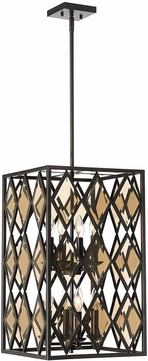 Savoy House 3-9300-8-13 Putman Contemporary English Bronze Foyer Lighting Fixture