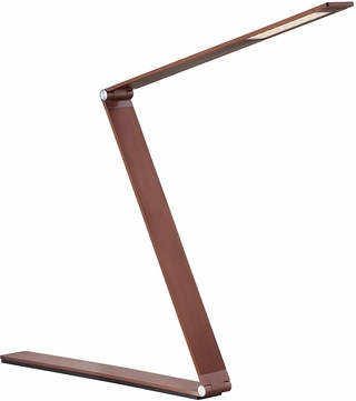 Savoy House 4-2000-BZ Fusion Z Contemporary Rose Gold Bronze LED Reading Light