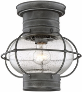 Savoy House 5-224-88 Enfield Traditional Oxidized Black Exterior Ceiling Light Fixture