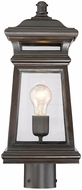 Savoy House 5-244-213 Taylor English Bronze w/ Gold Outdoor Post Lighting
